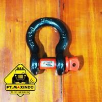 Scorpion Bow / Omega Shackle ukuran 5/8 inch kapasitas 3,25 Ton