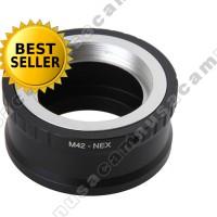 Adapter Lensa M42 To, Untuk, Ke Sony Nex E-Mount