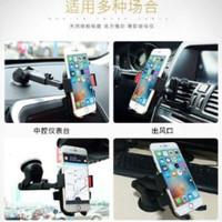 Car Holder 3 in 1 Gantungan HP Cantolan HP di Mobil Dashboard Kaca AC