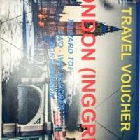 Voucher travel 2pax ticket Garuda LONDON 2way +Hotel 4d3n