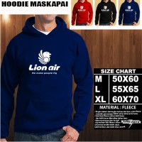 Sweater/Hoodie Maskapai LOGO LION AIR/Hoodie Pesawat/Jaket Maskapai
