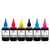 Tinta Printer F1 Ink Epson L800 1 Set (CMYK,PC,PM) 100ml 6 Warna HEMAT