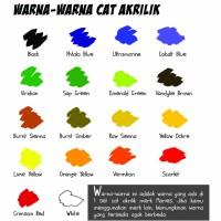Maries Acrylic Colour 75ml / Cat Acrylic Maries / Cat Akrilik Maries