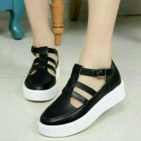 Sepatu Sandal Wanita / Flat Shoes Lolly Hitam