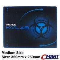 Rexus KVLAR Gaming Mousepad 350x250 tatakan alas mouse pad T3 Medium