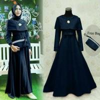 Jual maxi dress / long dress / gamis brukat / baju muslim / gaun pesta 70 Murah