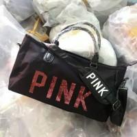 Jual Victoria Secret Travel Bag PINK Murah