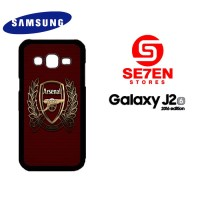 Casing HP Samsung J2 2016 Arsenal new Custom Hardcase Cover