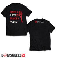 Kaos Dota 2 Save A Life Place A Ward & Gratis NickName ID