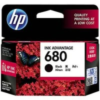 Tinta HP 680 Black ORIGINAL for printer HP deskjet 2135 ,etc