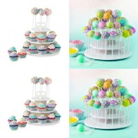 pop cake stand cupcake stand white lolypop stand