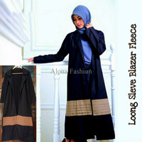 Jual Long Sleeve Blazer Fleece Murah