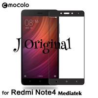 MOCOLO Tempered Glass Xiaomi Redmi Note 4 Full Curved Premium Quality