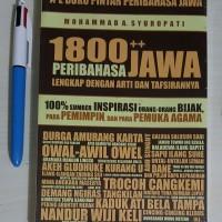 1800 Peribahasa Jawa