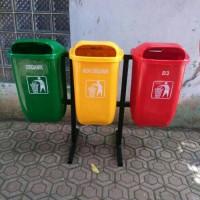 Jual tempat sampah 3in1 opal,kapasitas 50liter Murah