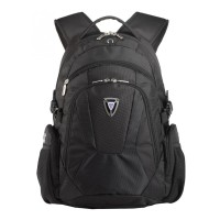 Sumdex PON-368 Backpack for Laptop 15.4 Inch - Hitam