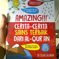 Buku Anak Amazing! Cerita Sains Terbaik dari Alquran