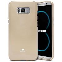 Mercury Goospery Jelly Case Samsung Galaxy S8 Plus (G955) - Gold