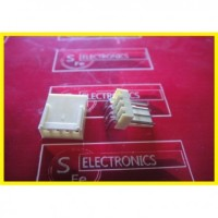 4 Pin White Connector RA ( Kaki Siku)