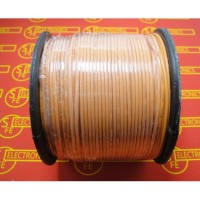 Kabel AWG 20 Orange (per meter)