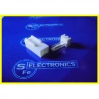 2 Pin White Connector ST ( Kaki Lurus)