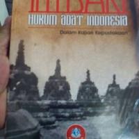 Intisari Hukum Adat Indonesia (Dalam Kajian Kepustakaan)