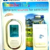 Harga bell pintu tanpa kabel wireless door chime perlengkapan rumah | WIKIPRICE INDONESIA