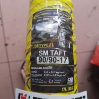 Ban Trail Motor Bebek 90/90-17 SM Taft Tubetype Kembang Tahu Kotak