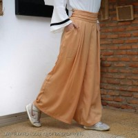 molly jinny Pleated Loose Cullote Bangkok Pants SK