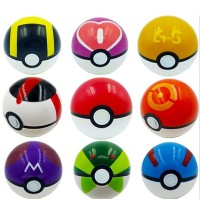 Pokeball 1 Pack Isi 9 Pokemon Figure One PIece Naruto Thousand Sunny D