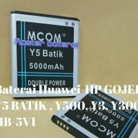 Baterai Huawei Y5 Batik Y500 Y3 Y300 HP Gojek Y5Batik 2 IC Protection