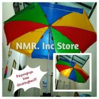 Payung Tenda, pantai, pelangi, dagang PKL, Cafe, diameter 200cm Tipe-A