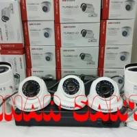MURAH PAKET CCTV HIKVISION 5CH + 2TB FULL HD 2MP ( KOMPLIT SET )