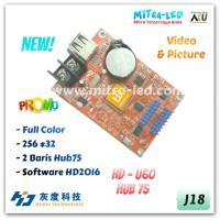 NEW HD-U60 Video + Running Text Controller Card | 320 x 32 Hub 75