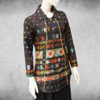 Baju Batik Wanita Songket Palembang , Blouse Batik, Kemeja Batik Wanit