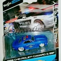 Jual Mobil Mainan MAISTO CHEVROLET CAMARO Z 1968 STATE POLICE Murah