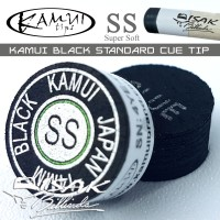 Kamui Black Standard SS - Super Soft Cue Tip - Billiard Stick Biliar