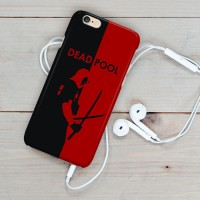 Deadpool Wallpaper Black Red iphone case 5s oppo f1s xiomi redmi s6