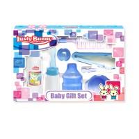 KADO BAYI - BABY GIFT BOTOL SET ISI 8 BESAR LUSTY BUNNY LB-1848