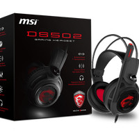 Headset MSI DS502 Gaming Headset Mic OnOff,Volume Control,7.1 Surround