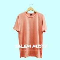 Kaos Polos / Basic Tees Unisex - Salem Misty
