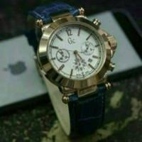 jam tangan wanita gc kulit tgl aktif kw super
