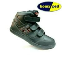 Sepatu sekolah (Homyped sniper) super black