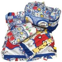 Paket Lengkap Tidur Bayi Tas Bantal Guling Gendongan Perlak 4in1 Murah