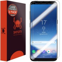 Skinomi Case Friendly Screen Protector Samsung S8 & S8 Plus (2-Pack)