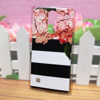 LG Stylus2 - Softcase Casing Custom Case Cover Print Cetak KD-47 Bunga