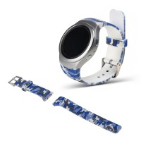 Samsung Gear S2 Sport - Patterned Watch Band Sport Strap