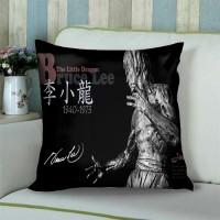 bruce lee #1 Sarung Bantal Sofa 18 inch gambar 2 sisi