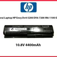 HP Baterai Laptop Envy Dv4-5200 Dv6-7200 M6-1100 Oem