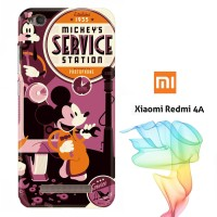 mickey mouse service station Y2014 Casing Redmi 4A Full Body Print 3D
